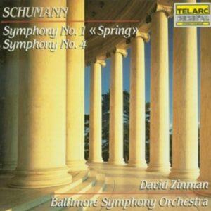 Schumann, Robert : Symphonies No. 1 & 4