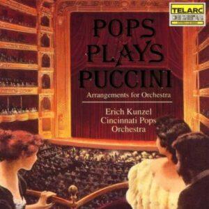 Puccini, Giacomo : Pops Plays Puccini (Arrangements Fo