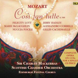 Mozart, Wolfgang Amadeus: Cosi Fan Tutte