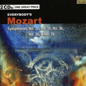 Mozart, Wolfgang Amadeus: Symphonies No. 32-35-36-38-39