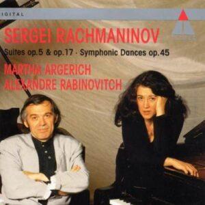 Rachmaninov : Suites N°1& 2/Danses Symphoniq. Argerichmartha