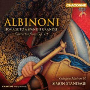 Albinoni : Hommage à un Grand d'Espagne.