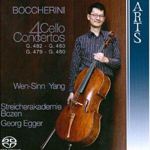 Boccherini : Concertos pour violoncelle. Egger.