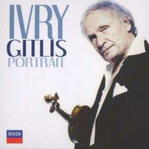 Ivry Gitlis : Portrait.