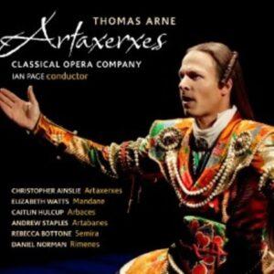 Arne, Thomas: Thomas Arne Artaxerxes