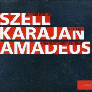 Karajan Szell Amadeus C