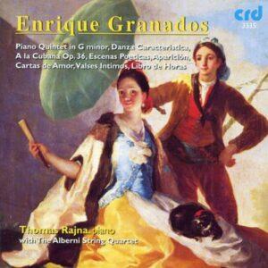 Thomas Rajna : Granados: Piano Music, Vol. 5