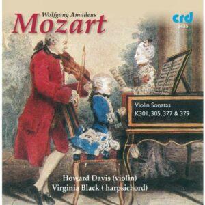 Wolfgang Amadeus Mozart : Sonates pour violon