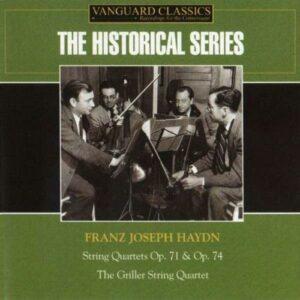 Franz Joseph Haydn : Quatuors à cordes Op.71 & Op.74