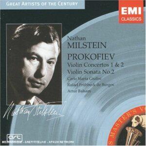 Milstein : Prokofiev : Conc. violon 1, 2, Son. violon-piano 2