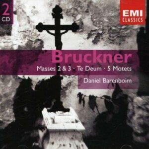 Bruckner : Messes N°2 et N°3, Te Deum, Motets