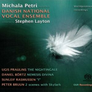 The Nightingale : 4 New Works for Recorder and Choir