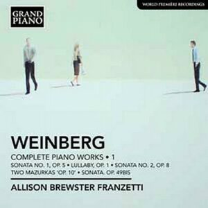 Weinberg : Les œuvres pour piano, Vol. 1.