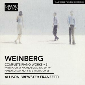 Weinberg : Les œuvres pour piano, Vol. 2.