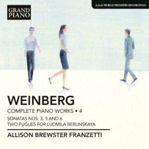 Mieczyslaw Weinberg : Œuvres pour piano (Intégrale - volume 4)