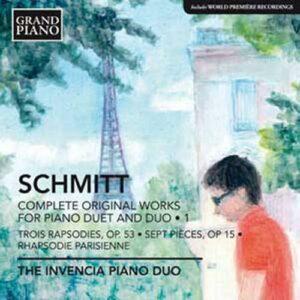 Florent Schmitt : Oeuvres pour duo de piano et piano à 4 mains (Intégrale - volume 1)