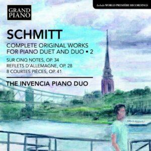 Florent Schmitt : Oeuvres pour duo de piano et piano à 4 mains (Intégrale - volume 2)