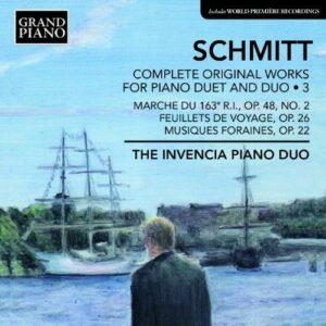 Florent Schmitt : Oeuvres pour duo de piano et piano à 4 mains (Intégrale - volume 3)