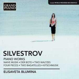 Silvestrov : Œuvres pour piano. Blumina.