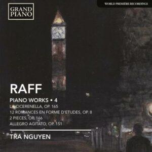 Joachim Raff : Oeuvres pour piano (Volume 4)