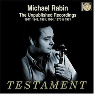 Michael Rabin, enregistrements inédits.