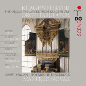 La Tablature d'orgue deKlagenfurt.