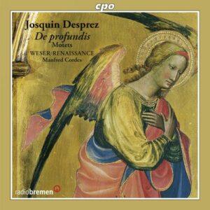 Desprez : De profundis. Motets. Weser-Renaissance, Cordes.