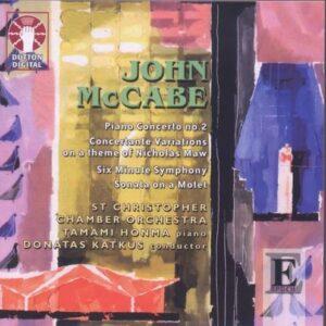 Mccabe, John: Piano Concerto 2 / Six-Minute Sympo