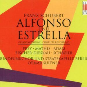 Schubert : Alfonso und Estrella. Prey, Adam, Dieskau, Schreier.
