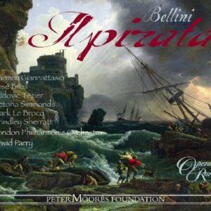 Bellini : Le Pirate. Tézier, Giannattasio, Parry.