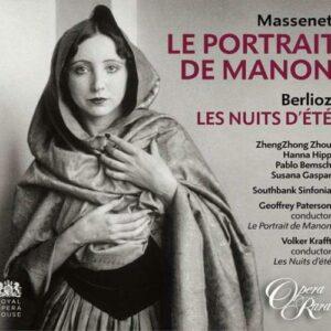 Massenet : Le Portrait de Manon. Zhou, Krafft.