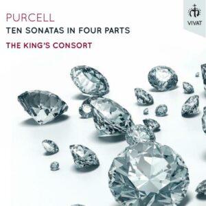 Purcell : Dix sonates en quatre parties. King's Consort.