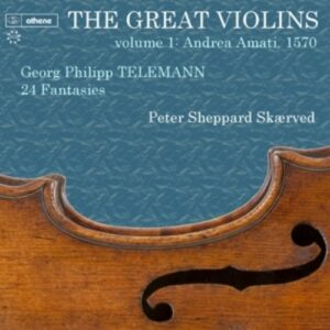 Telemann, Georg Philipp: The Great Violins Volume 1