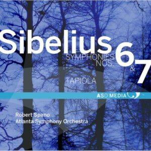 Jean Sibelius : Symphonies n°6 et n°7 - Tapiola