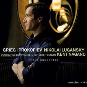 Prokofiev : Concerto piano n° 3. Grieg : Conc piano. Lugansky, Nagano.