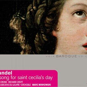 Haendel : Ode À Sainte Cécile