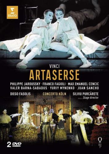 Vinci : Artaserse. Jarrousky, Fagioli, Cencic, Fasolis.
