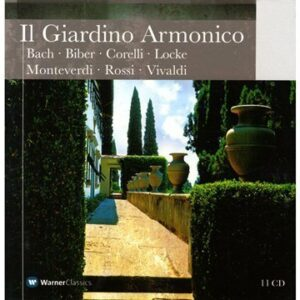 Il Giardino Armonico. Enregistrements choisis.