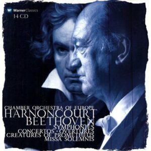 Beethoven : Symphonies N° 1 & 9. Harnoncourt Nikolaus