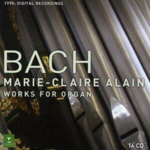 Bach : L'œuvre pour orgue. Alain.