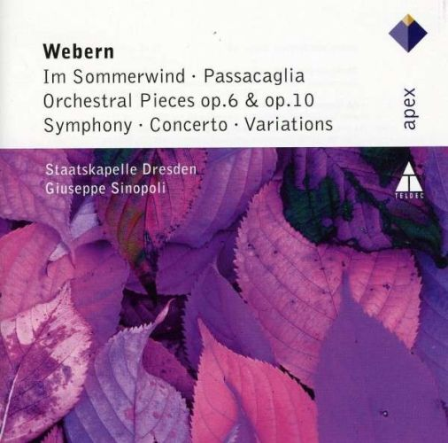 Webern:Oeuvres Orchestrales. Sinopoligiuseppe