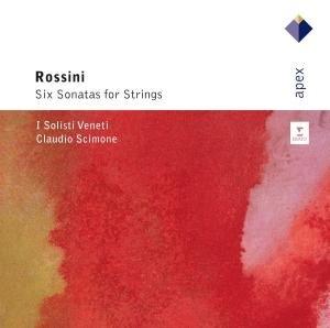 Rossini : 6 Sonates Pour Cordes. Scimone Claudio