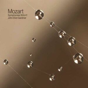 Mozart : Symphonies n° 39 et 41. Gardiner.