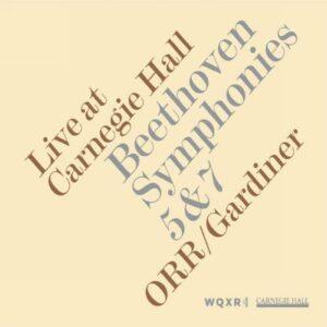Beethoven : Symphonie n°5 et 7. Gardiner.
