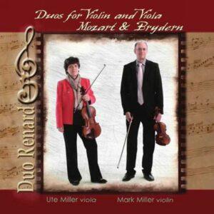 Wolfgang Amadeus Mozart - Benedikt Brydern : Duos pour violon et alto