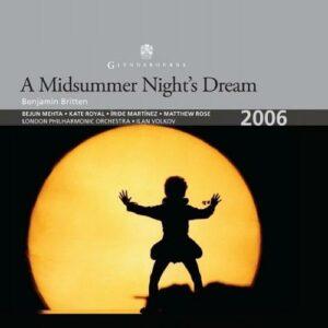 Britten : Le songe d'une nuit d'été. Volkov.