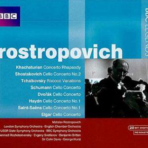 Khachaturian/Shostakovich/Tchaikovsky/Schumann/... : Cello Concertos