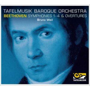 Ludwig van Beethoven : Symphonies n°1 à n°4 - Ouvertures