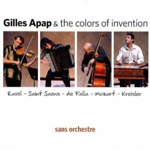 Mozart/Kreisler/Ravel/Saint-Saens/De Falla : Sans Orchestre