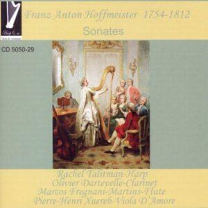 Hoffmeister : Sonates de Franz Anton Hoffmeister